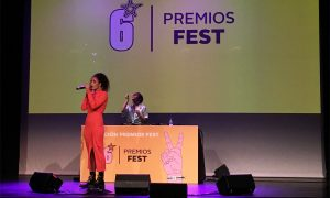 Hakima Flissi en directo