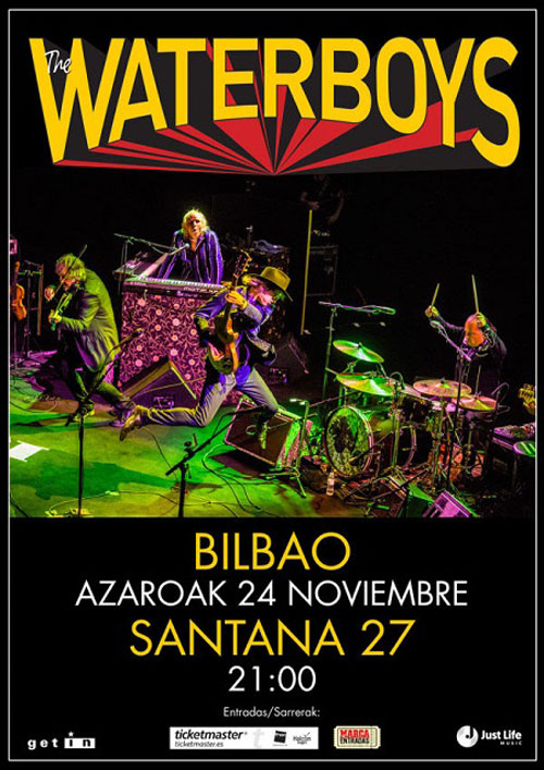 The Waterboys en Bilbao (2019)