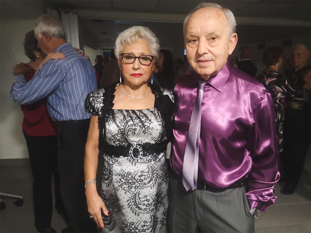 Urbi y Roberto, en la pista de baile