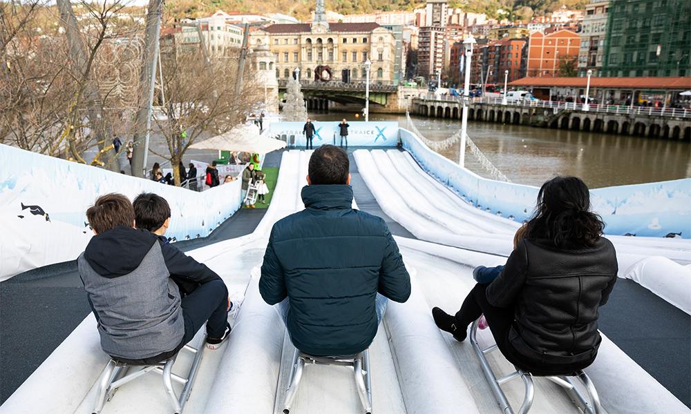 Nuevas actividades de ocio sobre hielo en Bilbao en 2019