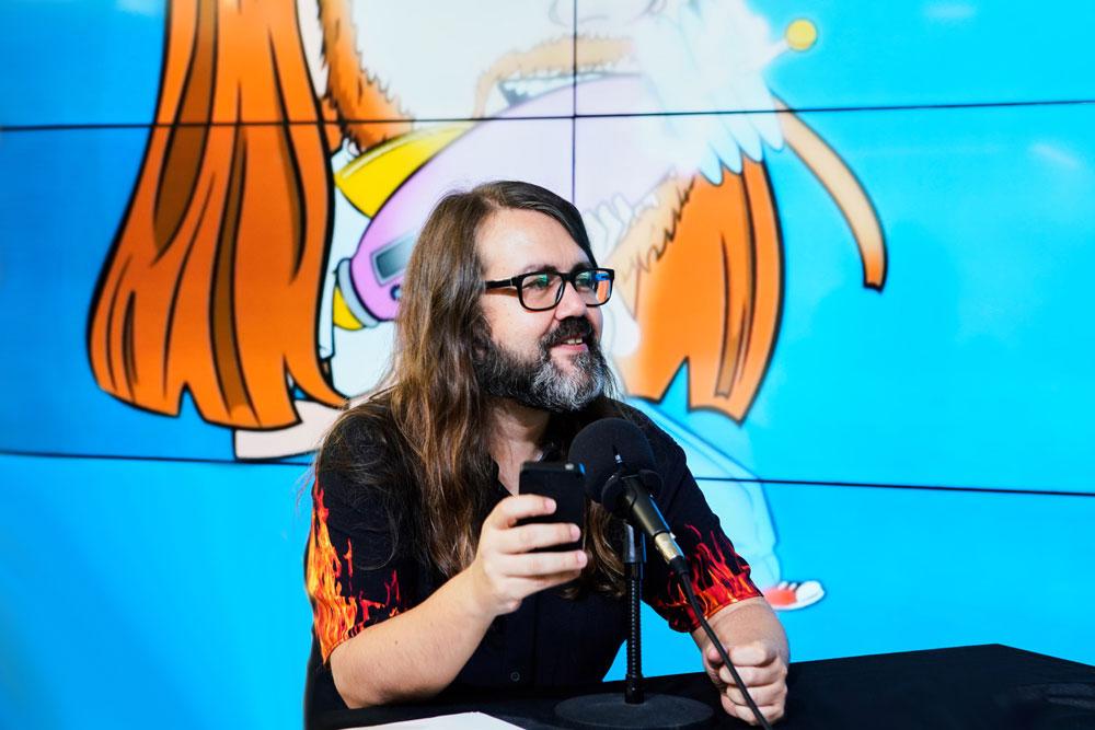 Borja Crespo, en La Hora Caníbal