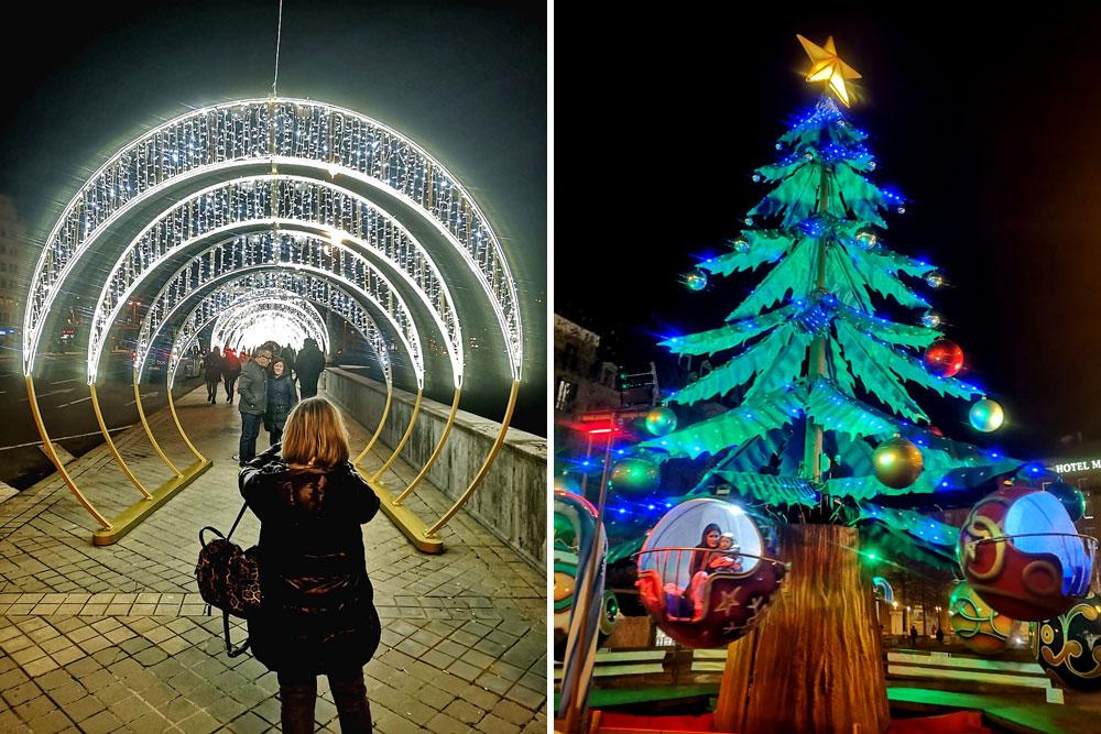 Luces de Navidad en San Sebastián