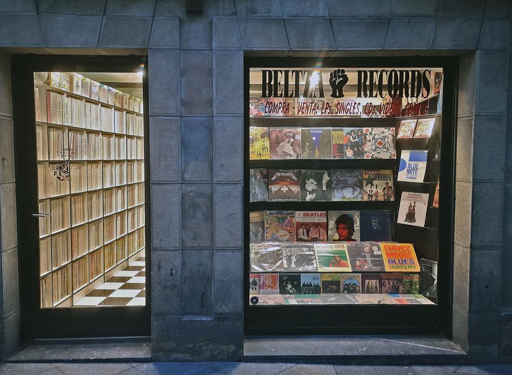 Tienda de discos Beltza Records