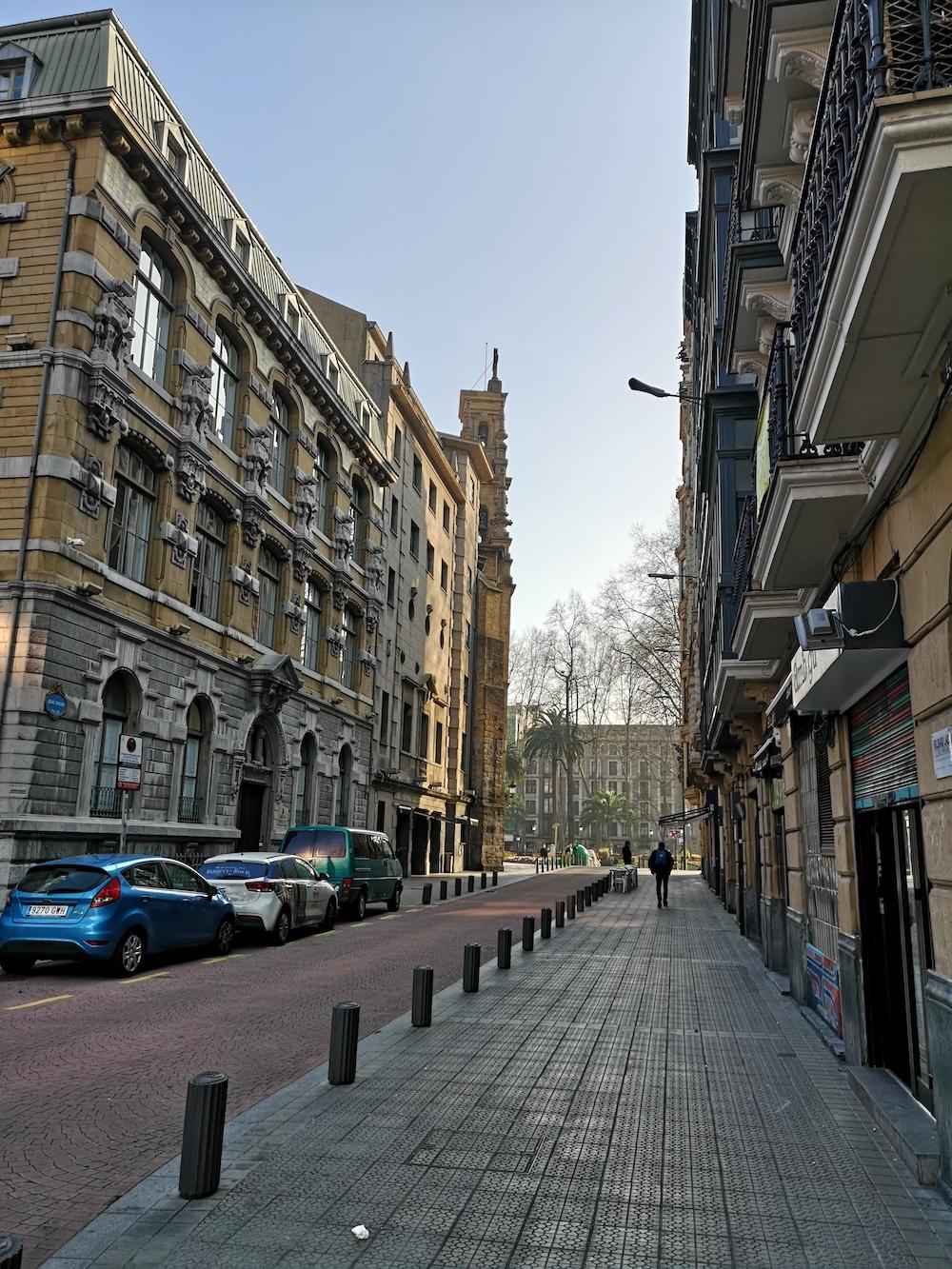 La calle San Vicente de Bilbao