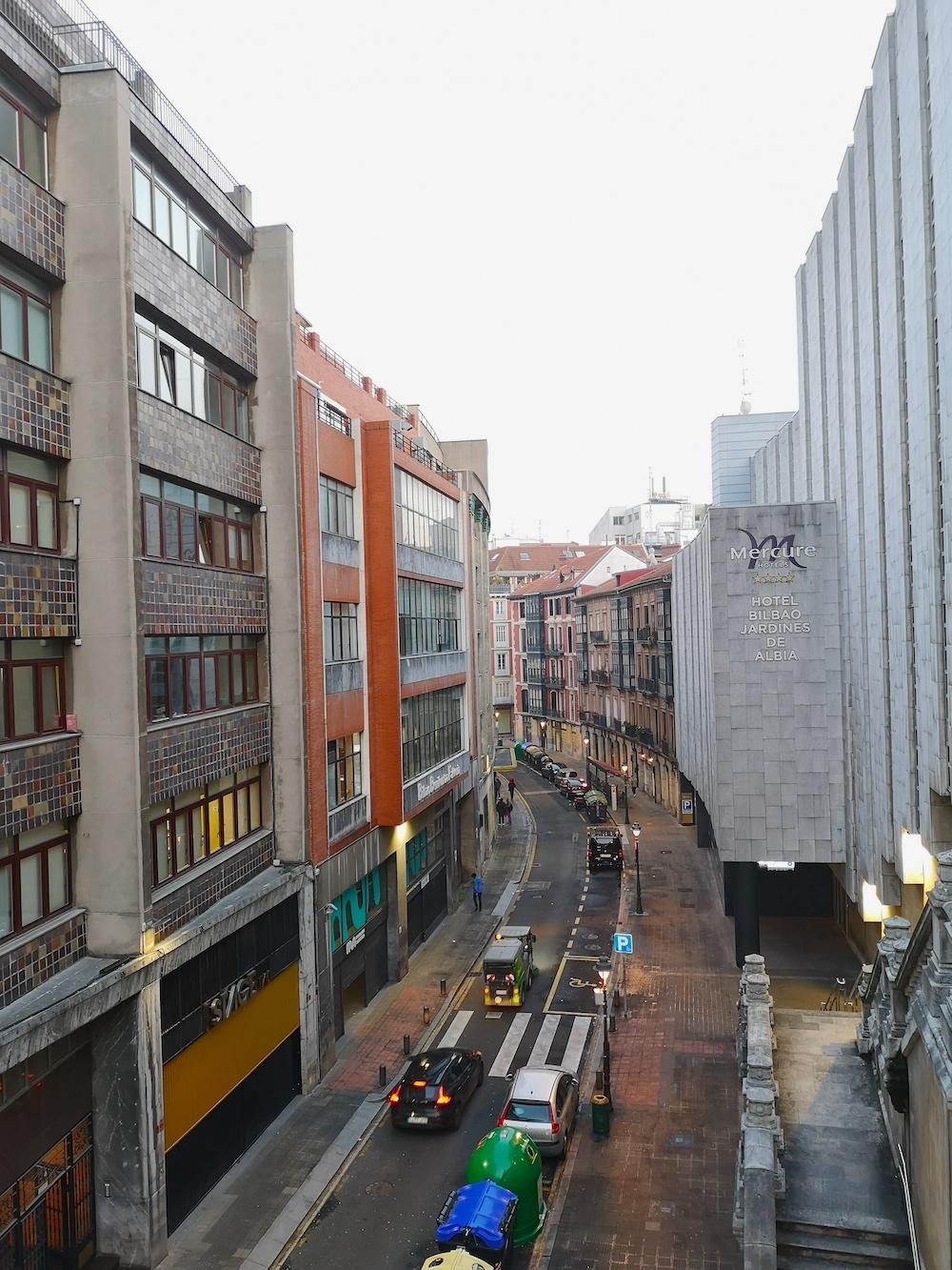 La calle Uribitarte de Bilbao