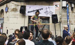 Fiesta anual del mercado dosdemayo de Bilbao
