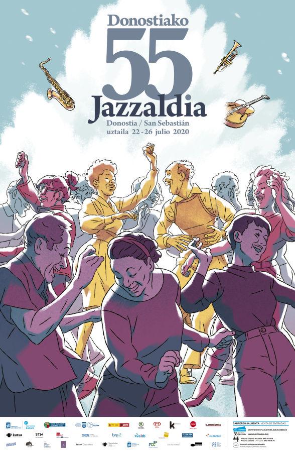 Jazzaldia 2020, cartel