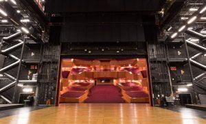 Interior del escenario del Euskalduna